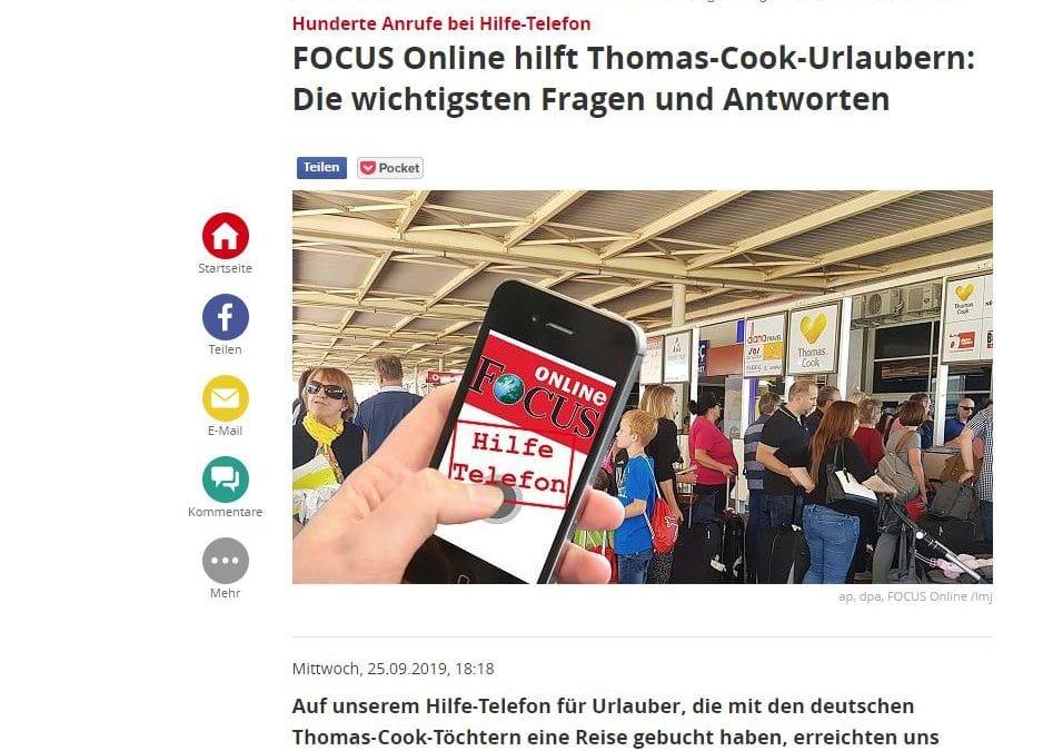 Rechtsanwalt Karimi hilft mit FOCUS Online Thomas-Cook-Urlaubern