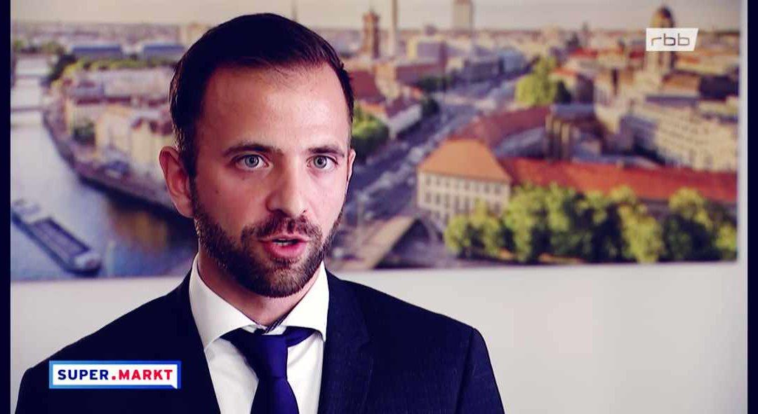 Rechtsanwalt Karimi zur Thomas Cook Pleite im RBB