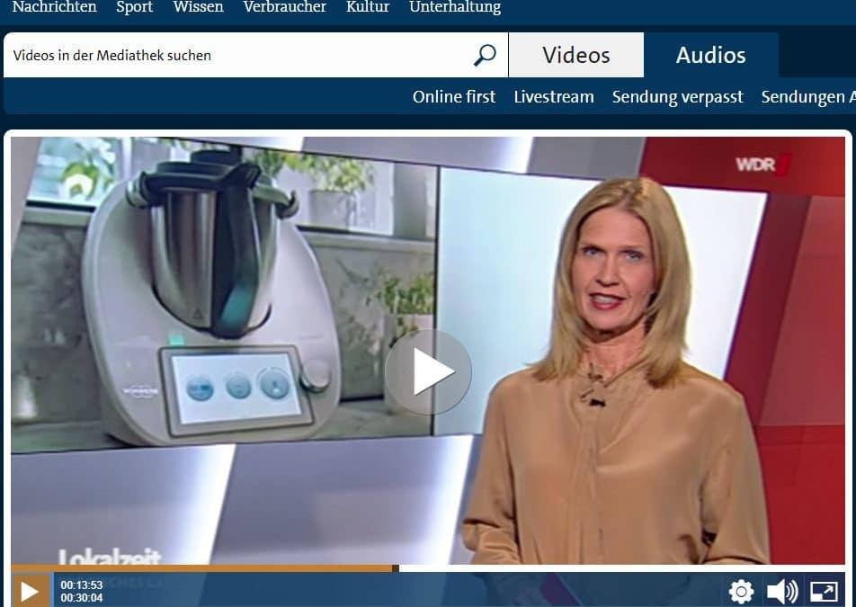 Nach Klage wird der Thermomix getauscht – auch der WDR berichtet
