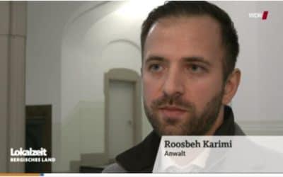 WDR und Wuppertaler Rundschau berichten über die nächste Runde im Vorwerk-Prozess