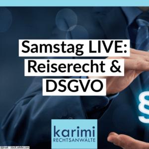 Reiserecht & DSGVO/IT-RECHT (LIVE-Online)